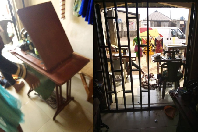 Victim of sex trafficking from Nigeria to Dubai starts her apprenticeship.jpg