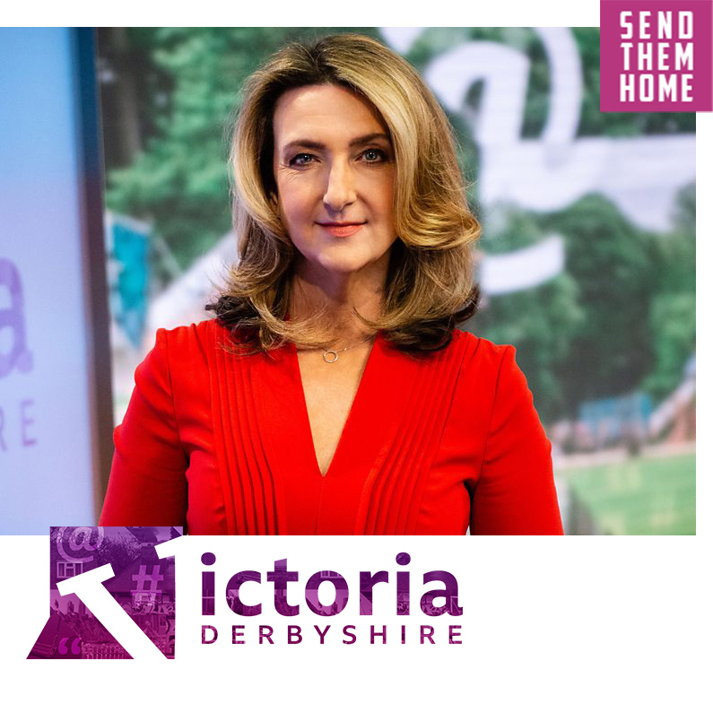 Victoria Derbyshire talks about Send Them Home and the Nigerian women trafficked for sex to Dubai