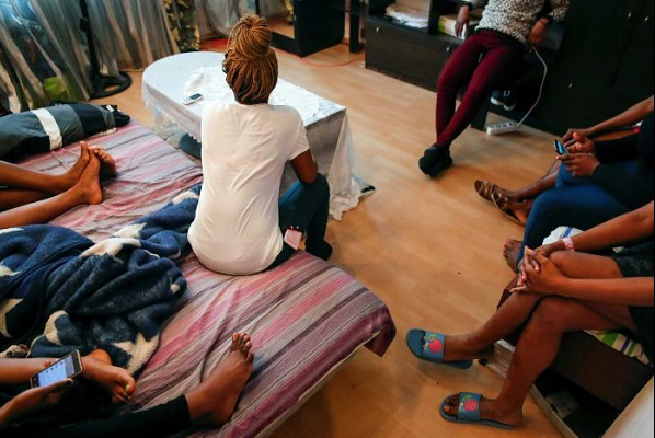 Nigerian prostitutes in Dubai end up being sexually exploited by madams